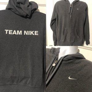 Nike Team Hoodie Zip Jacket Running Sweatshirt